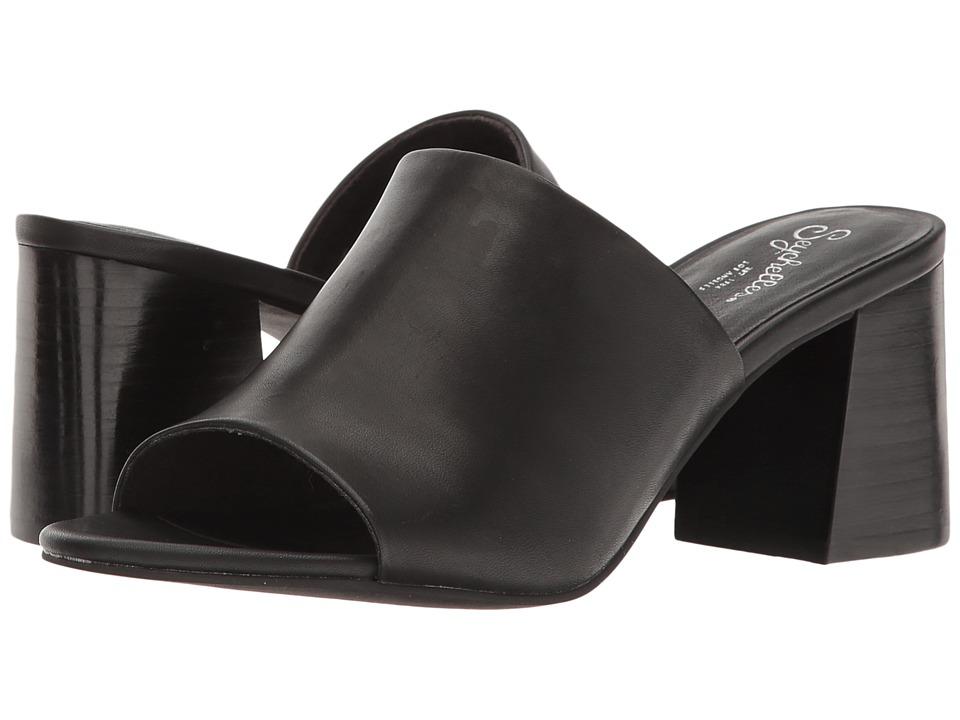 Seychelles - Commute (Black Leather) Women's Clog/Mule Shoes