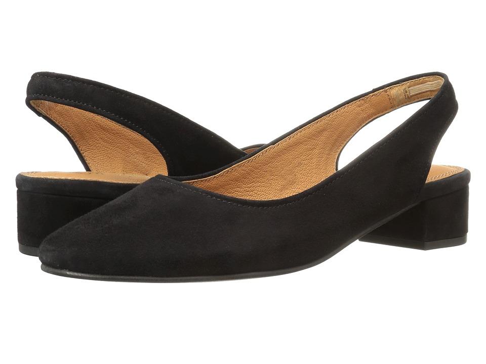 Seychelles - Electric (Black Suede) Women's 1-2 inch heel Shoes