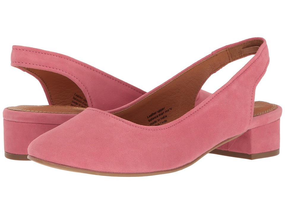 Seychelles - Electric (Flamingo Pink Suede) Women's 1-2 inch heel Shoes