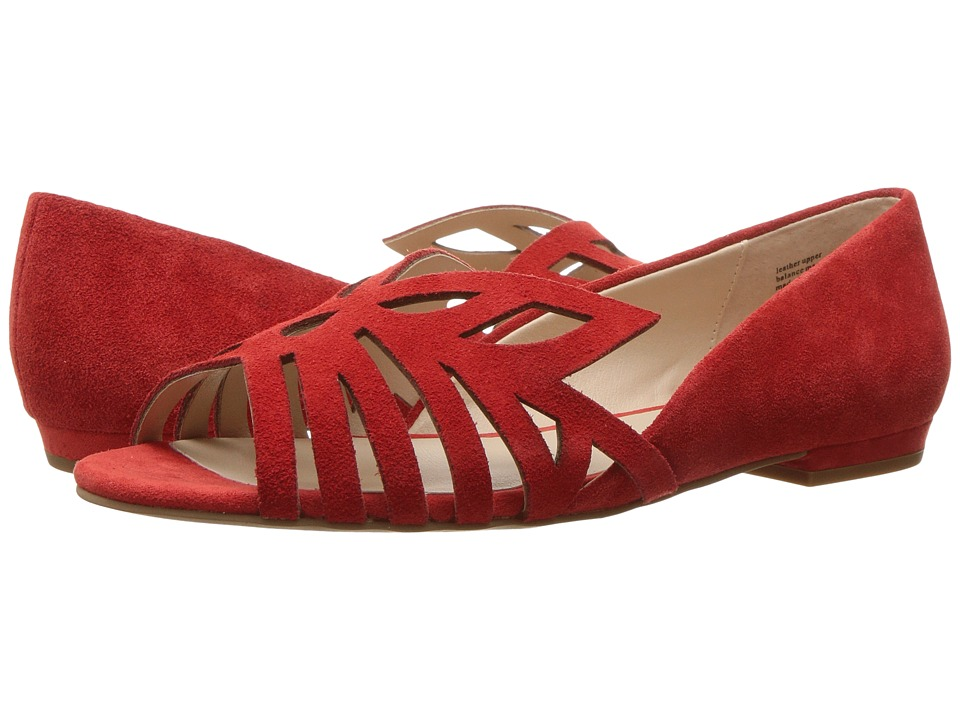 Seychelles - Purrfect (Red Suede) Women's Sandals