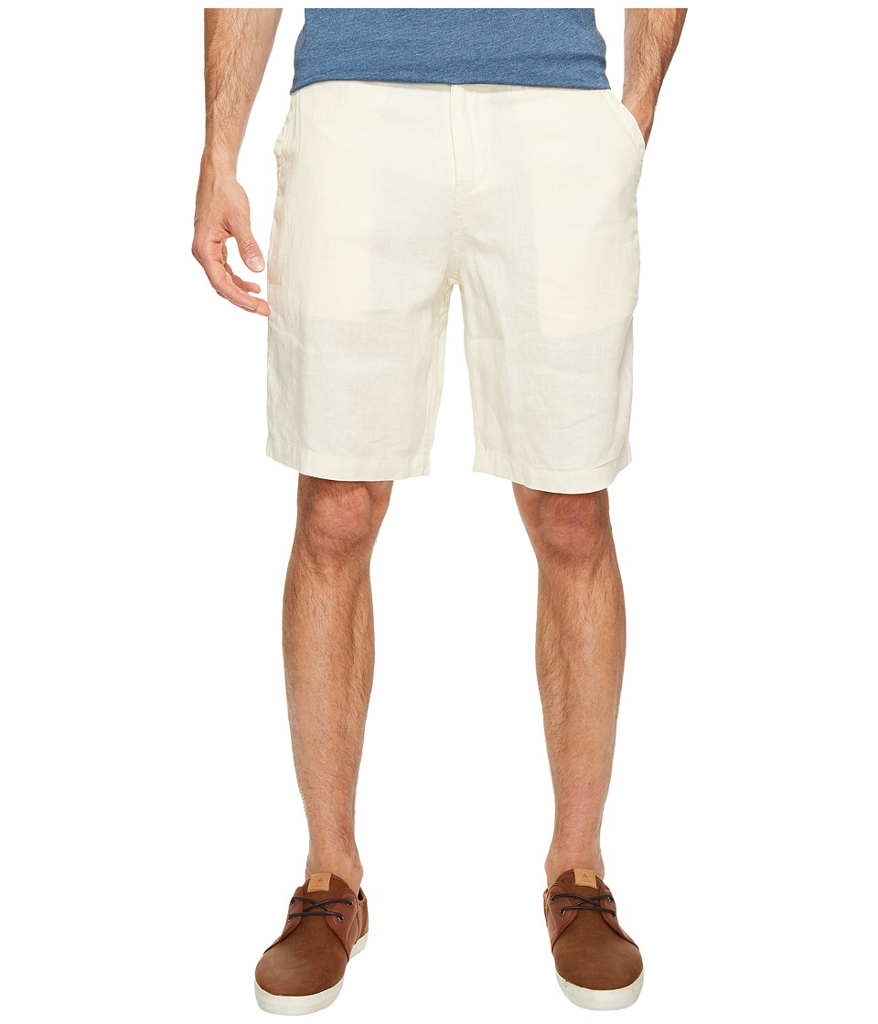 True Grit - Sunset Linen Drawsting Chino Shorts Vintage Washed for Softness (Sand) Men's Shorts