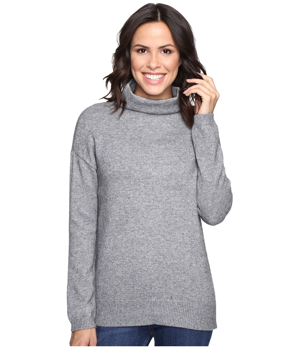 Brigitte Bailey - Dita High Neck Long Sleeve Sweater (Heather Grey) Women's Sweater