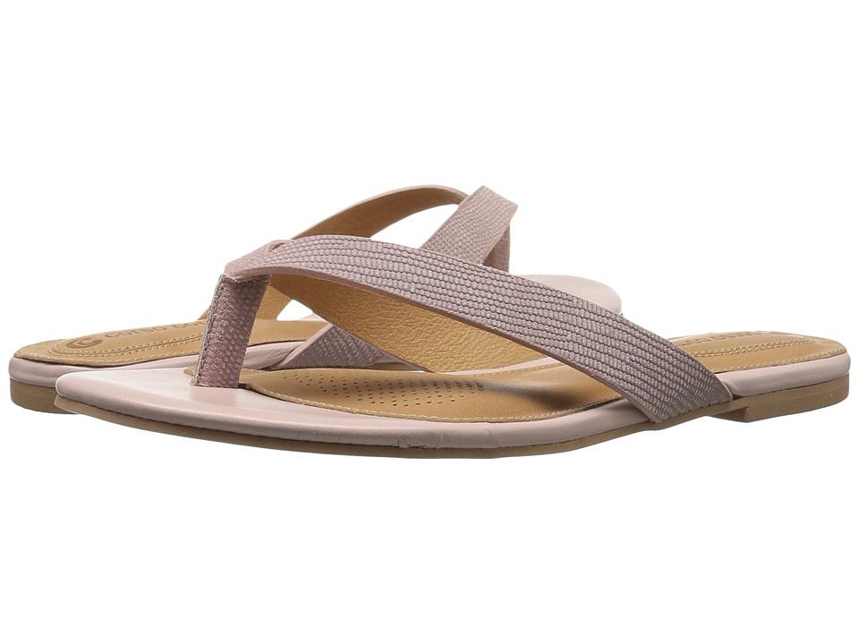 Corso Como - Volley (Light Pink Vintage Lizard) Women's Shoes