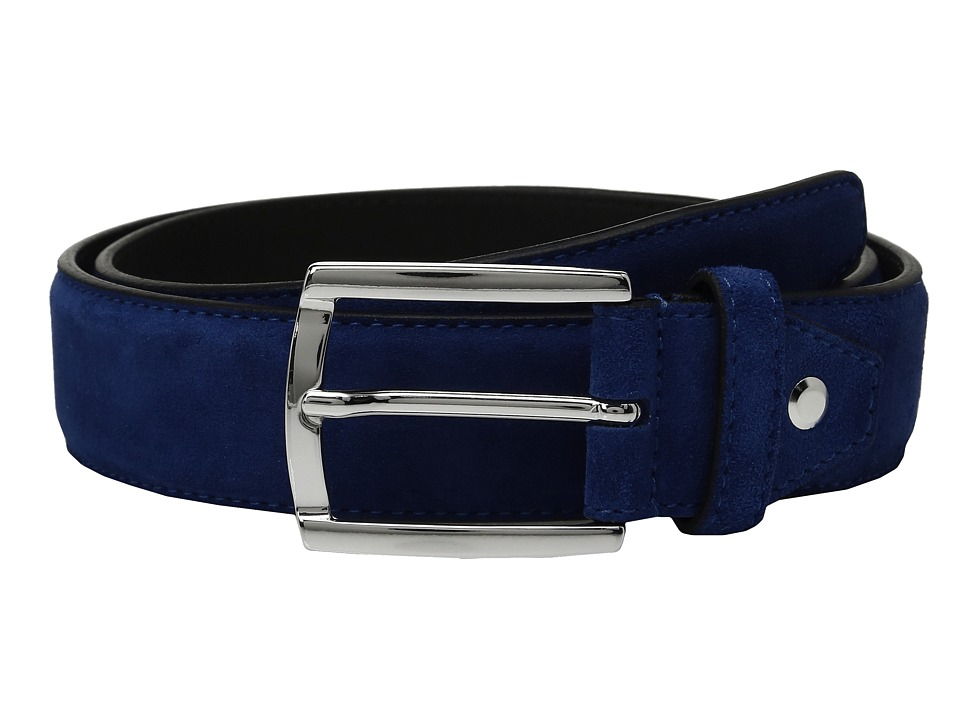 BUGATCHI - Fellini Suede Belt (Hawaii) Men's Belts