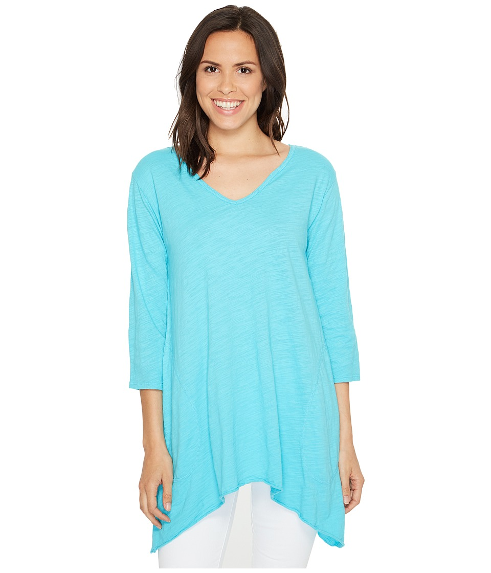 Fresh Produce - Santa Barbara Top (Luna Turquoise) Women's Clothing