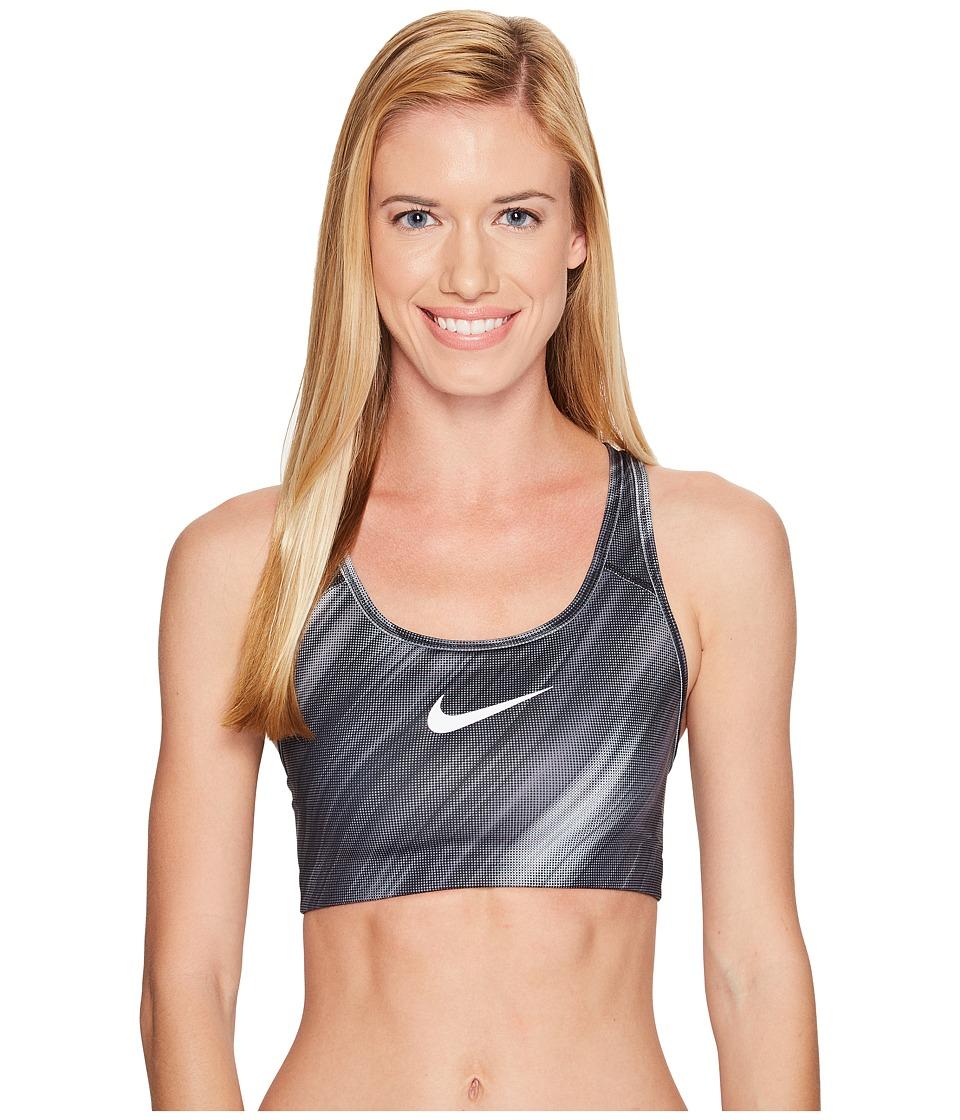 Nike - Pro Classic Swoosh Light Streak Bra (Black/Cool Grey/White) Women's Bra