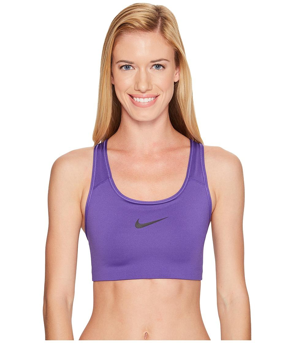 Nike - Pro Classic Swooshtm Sports Bra (Dark Iris/Black) Women's Bra