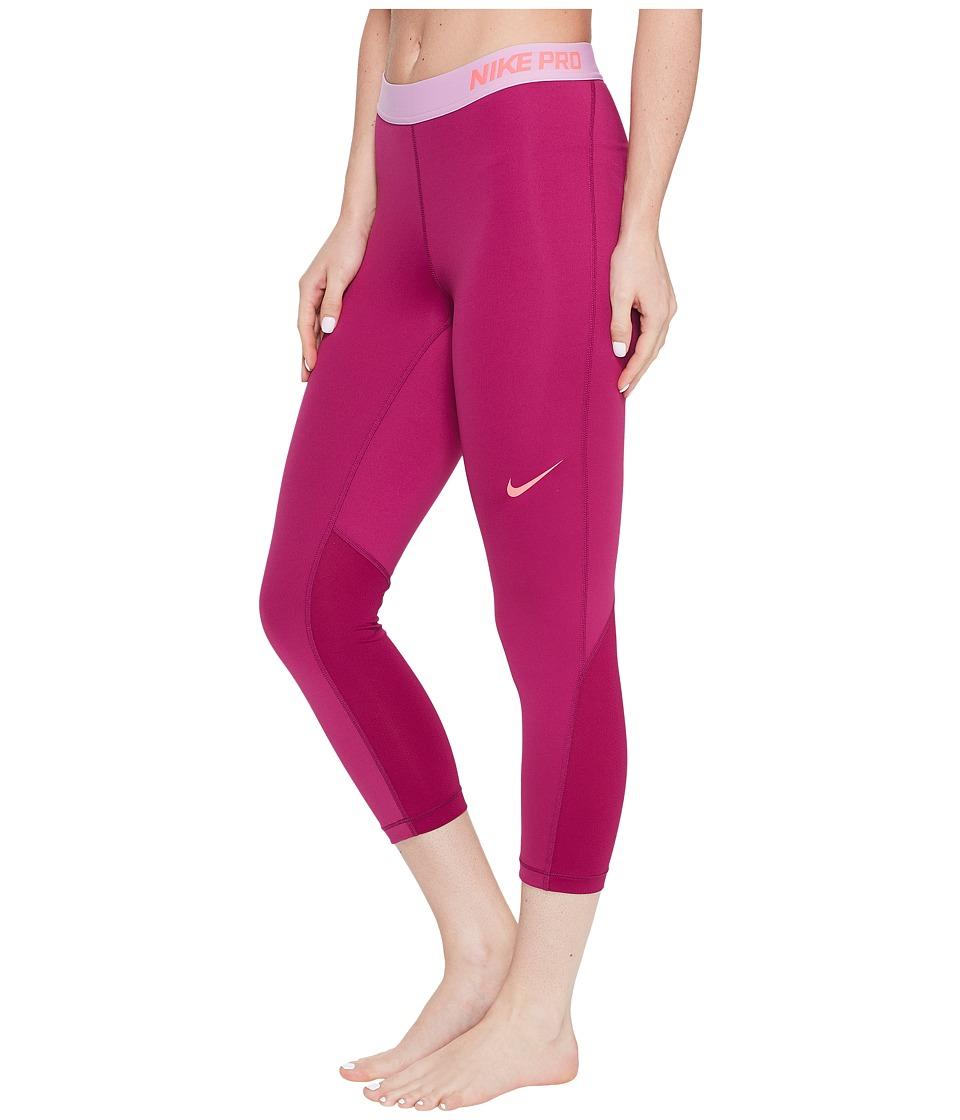 Nike - Pro Cool Capris (True Berry/Racer Pink) Women's Capri