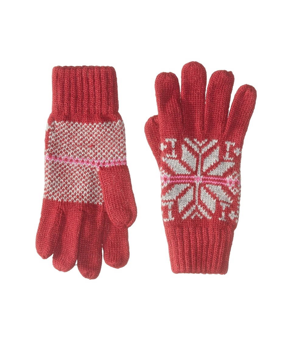 BULA Victoria Gloves (Burgundy) Wool Gloves