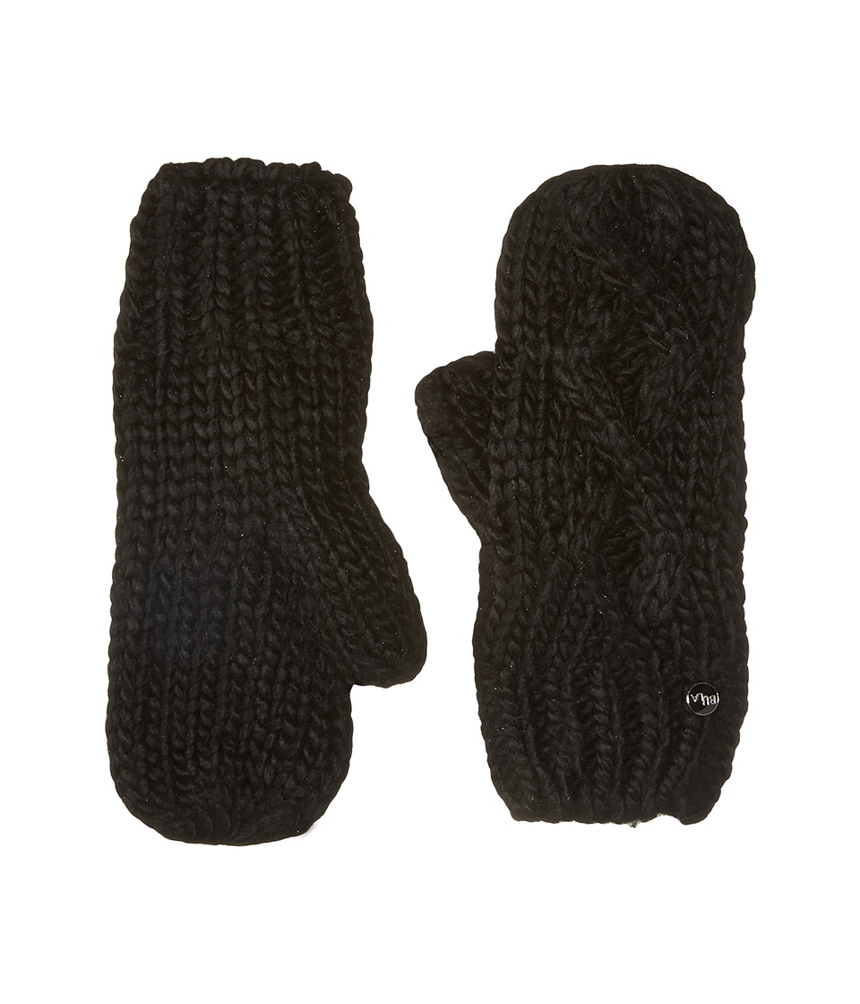 BULA - Lina Mitten (Black) Over-Mits Gloves