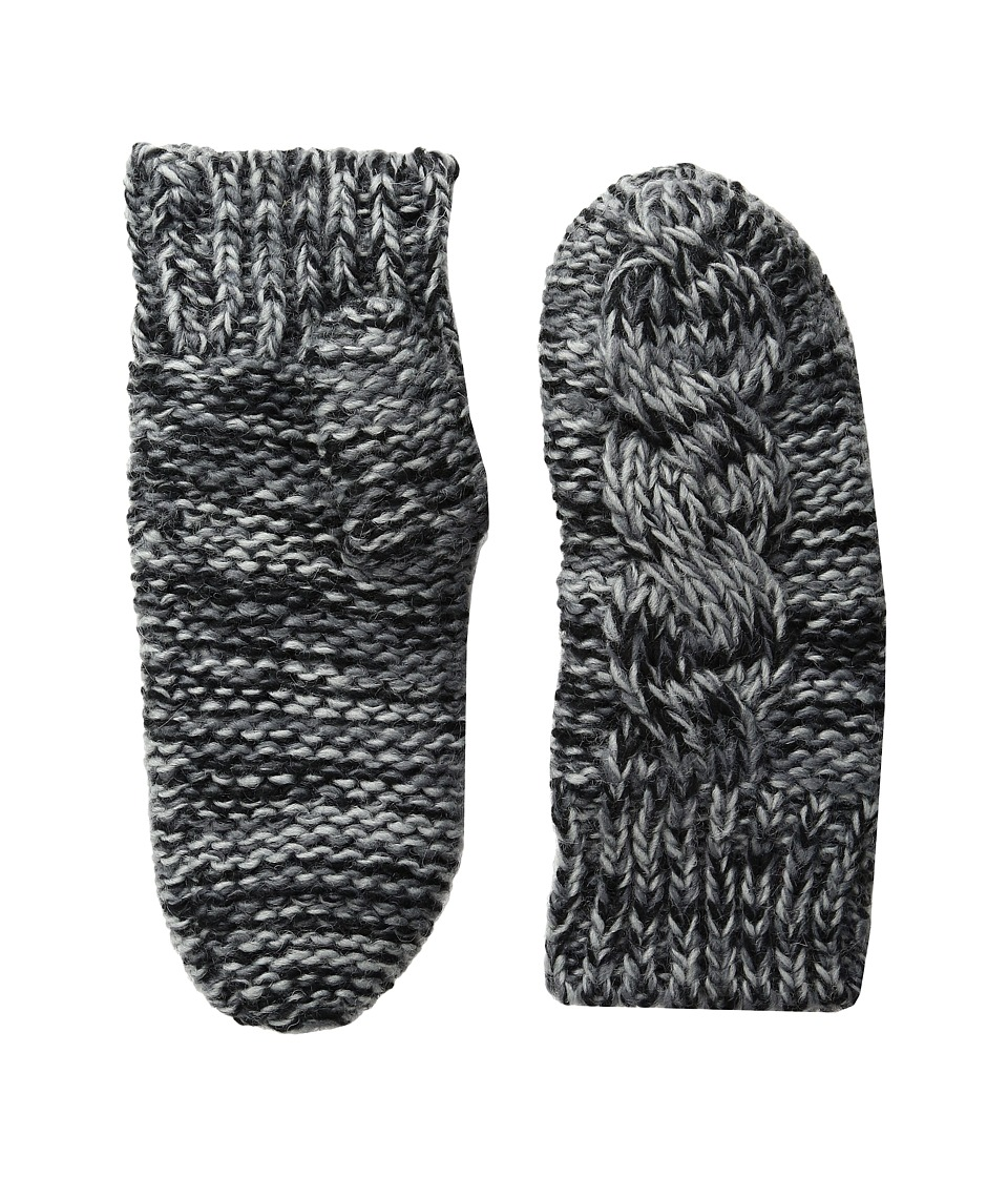 BULA - Aran Mitten (Heather Grey) Over-Mits Gloves