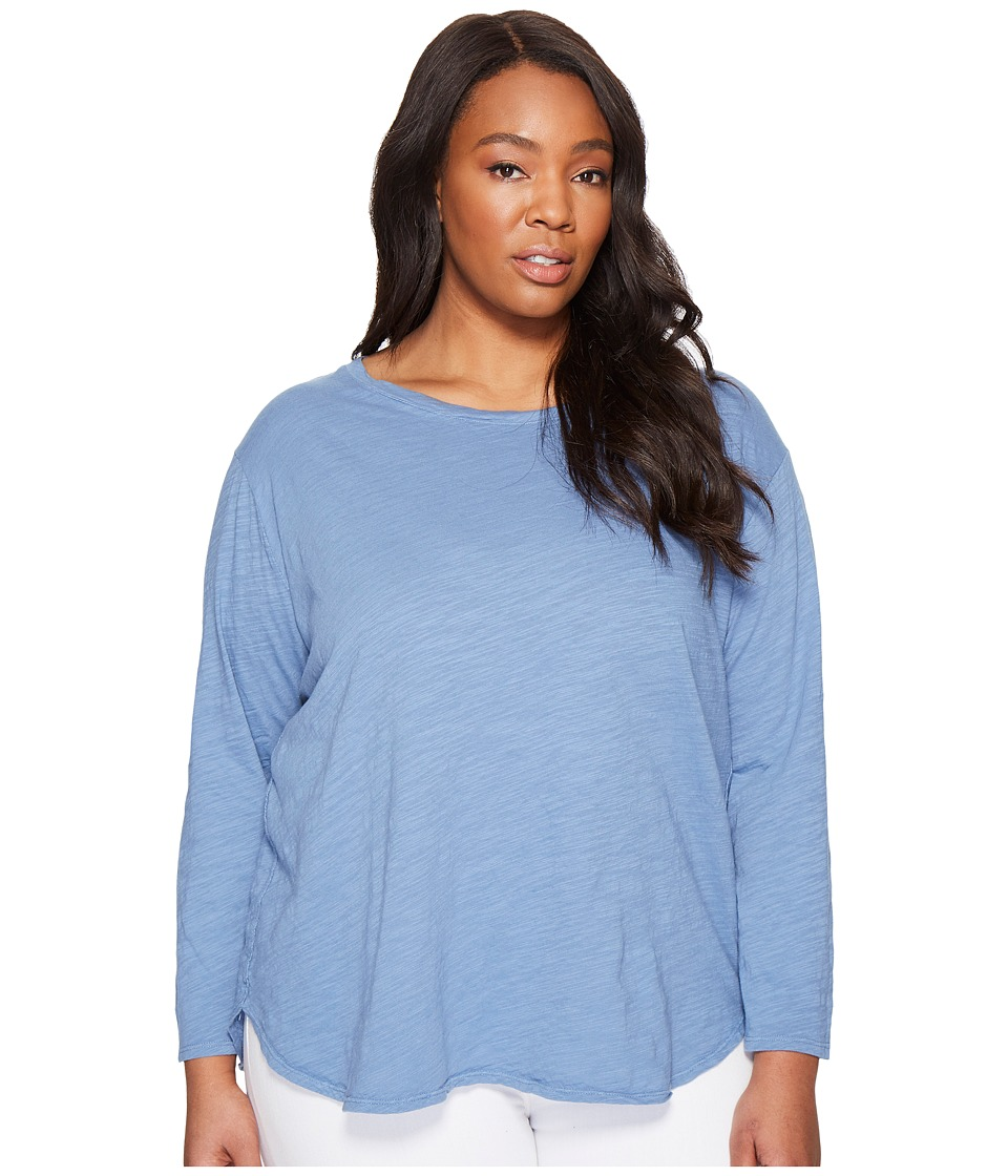 Extra Fresh by Fresh Produce Plus Size Catalina Shirt (Deep Dive) Women's Clothing