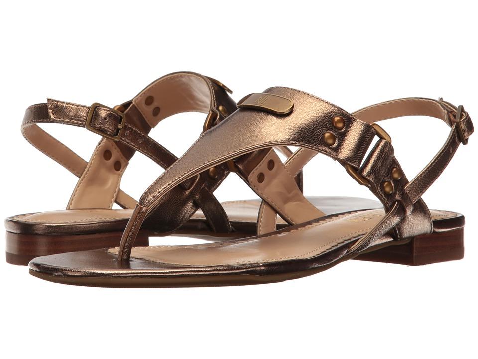 LAUREN Ralph Lauren - Valinda (Safari Gold) Women's Sandals