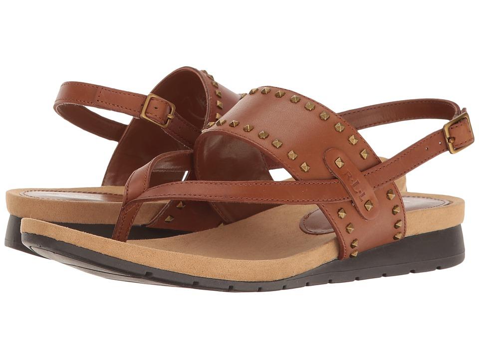 LAUREN Ralph Lauren - Ladee (Deep Saddle Tan) Women's Shoes