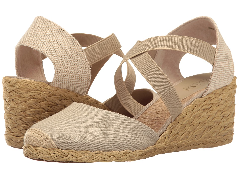 LAUREN Ralph Lauren - Casandra (Cream) Women's Wedge Shoes