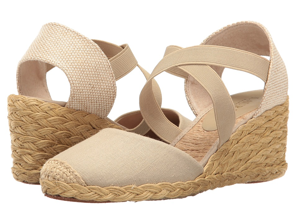 LAUREN Ralph Lauren - Casandra (Eucalyptus) Women's Wedge Shoes