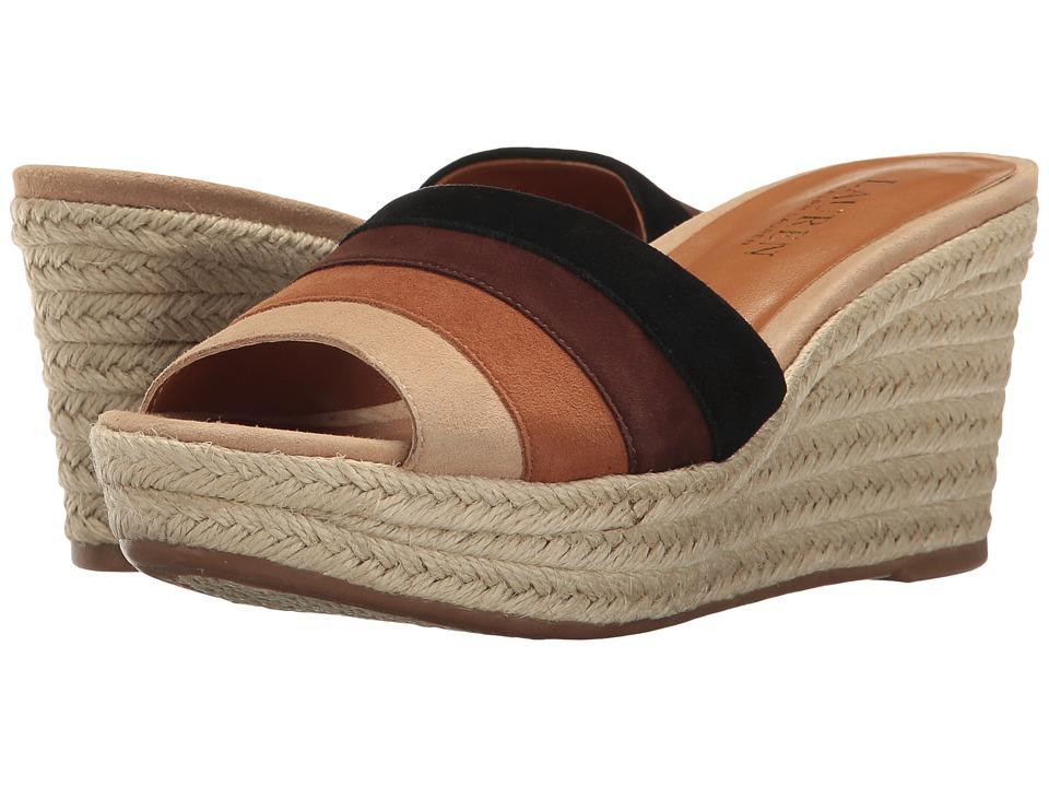 LAUREN Ralph Lauren - Karlia (Safari Tan Multi) Women's Shoes