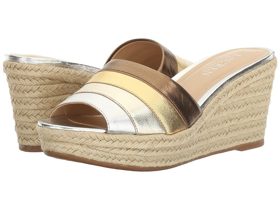 LAUREN Ralph Lauren - Karlia (RL Silver Multi) Women's Shoes