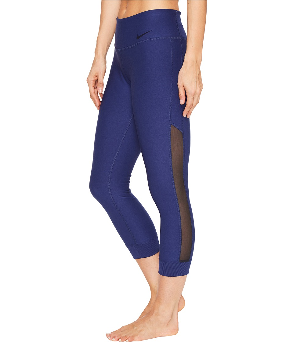 Nike Power Legend Veneer Training Capri (Binary Blue/Black) Women