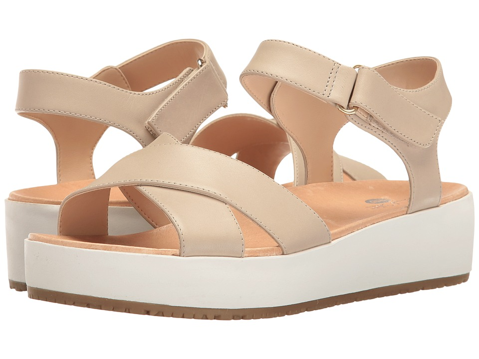 Dr. Scholl's - Frills - Original Collection (Greige Leather) Women's Shoes