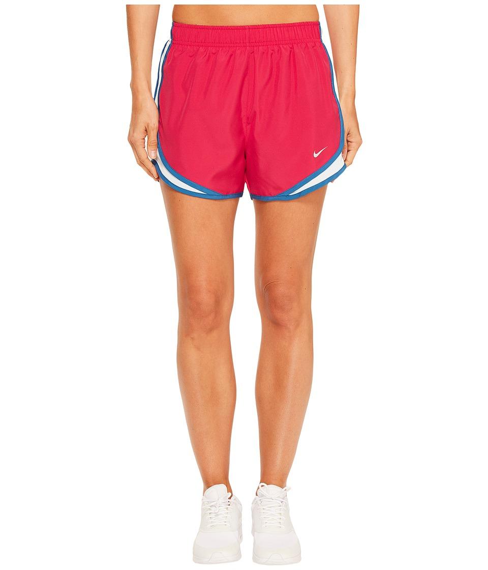 Nike - Dry Tempo Short (Sport Fuchsia/Glacier Blue/Wolf Grey) Women's Shorts