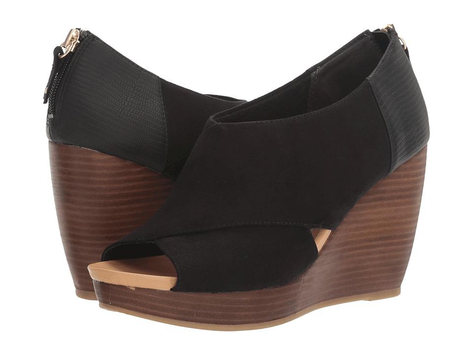 Dr. Scholl's - Monarch (Black Microsuede) Women's Shoes
