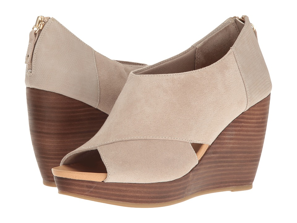 Dr. Scholl's - Monarch (Taupe Microsuede) Women's Shoes