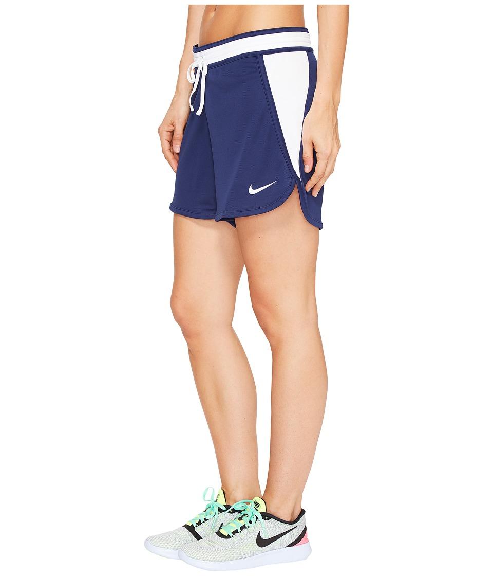 Nike - Dry Infiknit Short (Binary Blue/White/White/White) Women's Shorts