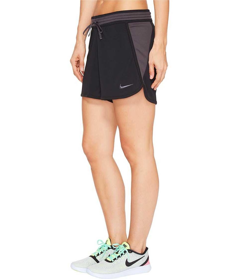 Nike - Dry Infiknit Short (Black/Anthracite/Anthracite/Anthracite) Women's Shorts