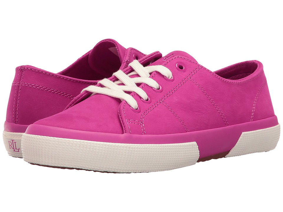 LAUREN Ralph Lauren - Jolie (Spring Pink) Women's Lace up casual Shoes