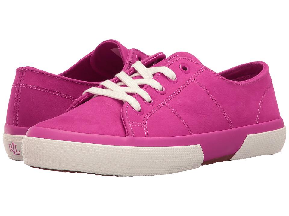 LAUREN Ralph Lauren - Jolie (Spring Pink) Women's Lace up casual Shoes