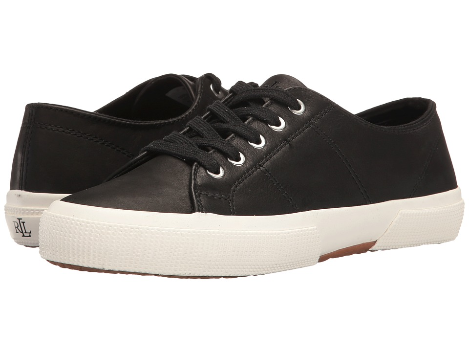 LAUREN Ralph Lauren - Jolie (Black) Women's Lace up casual Shoes