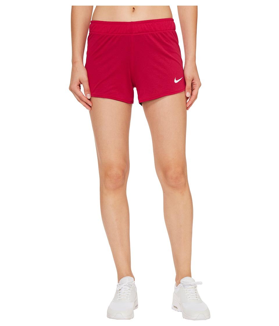 Nike - Dry Jump Reversible Short (Sport Fuchsia/Black/White/White) Women's Shorts