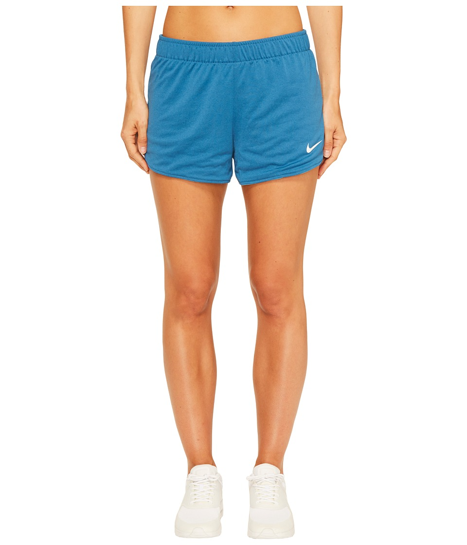 Nike - Dry Jump Reversible Short (Industrial Blue/Chlorine Blue/White) Women's Shorts
