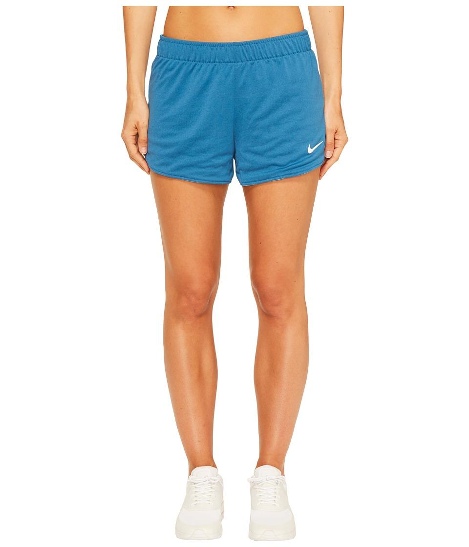 Nike Dry Jump Reversible Short (Industrial Blue/Chlorine Blue/White) Women