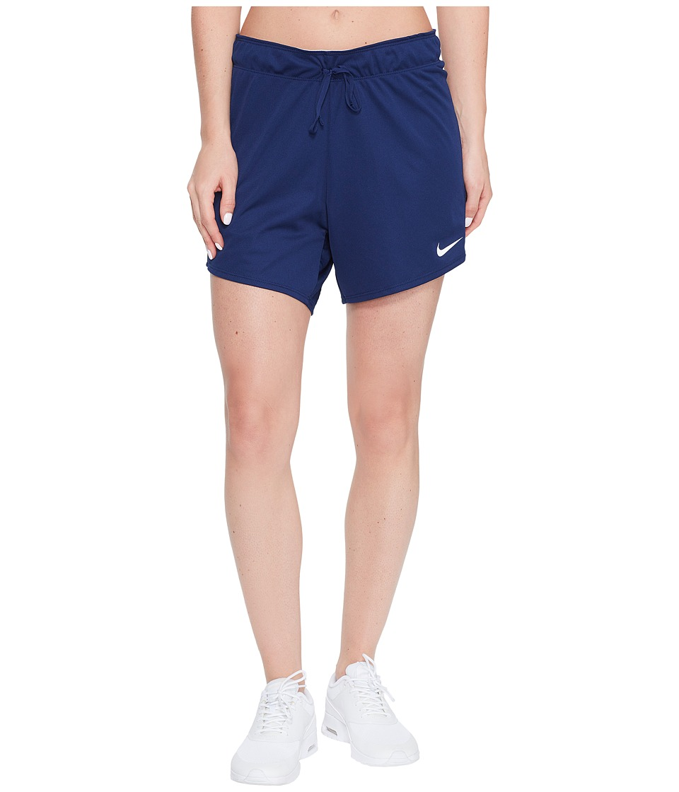 Nike - Dry Training Short (Binary Blue/Wolf Grey/White) Women's Shorts