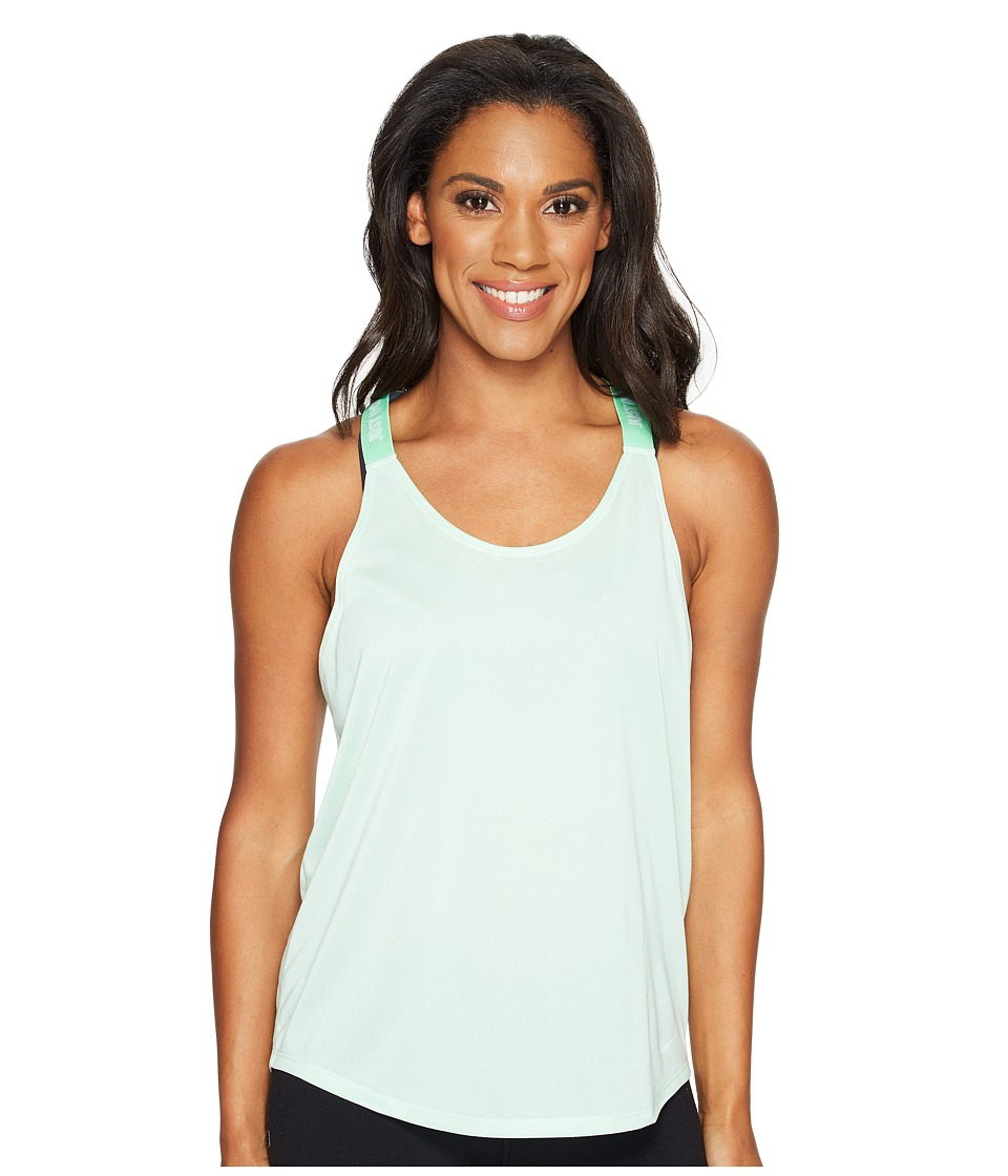 Nike - Dry Training Tank (Fresh Mint/Tourmaline/White) Women's Sleeveless