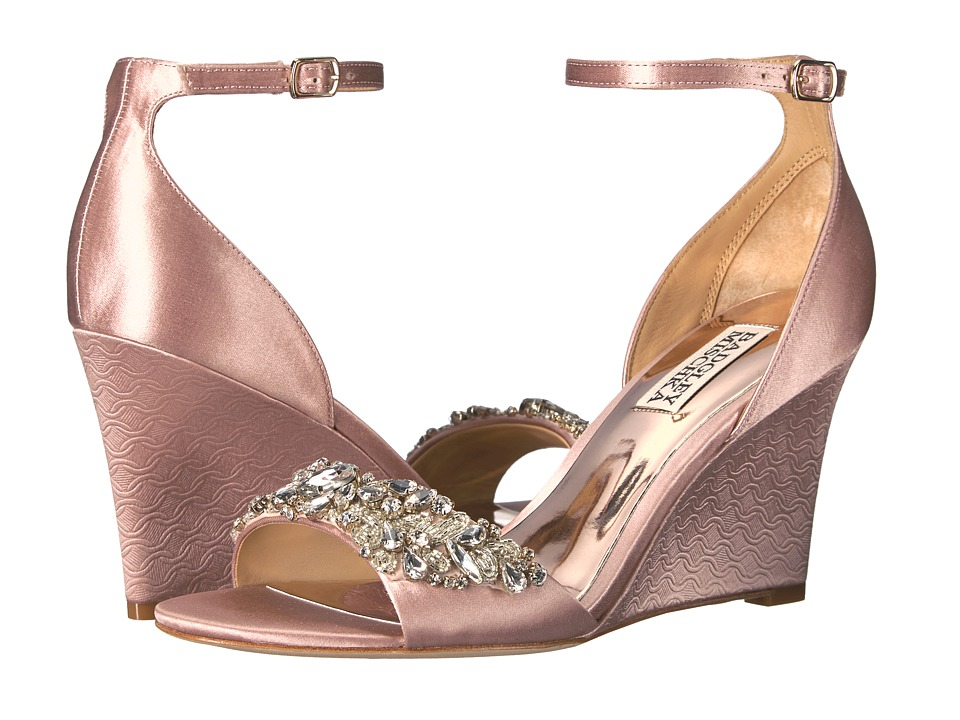 Badgley Mischka Tyra (Blush Satin) Women
