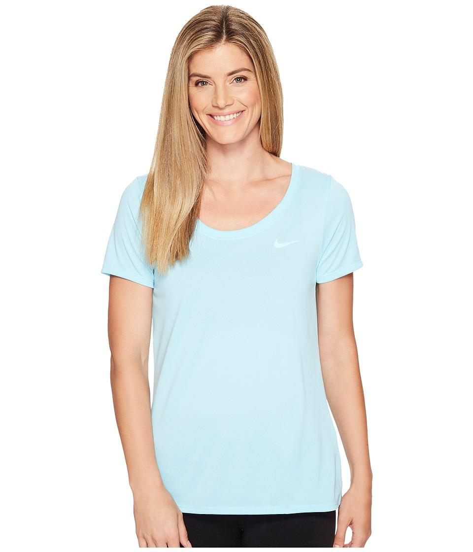 Nike Dry Training T-Shirt (Still Blue/Still Blue) Women