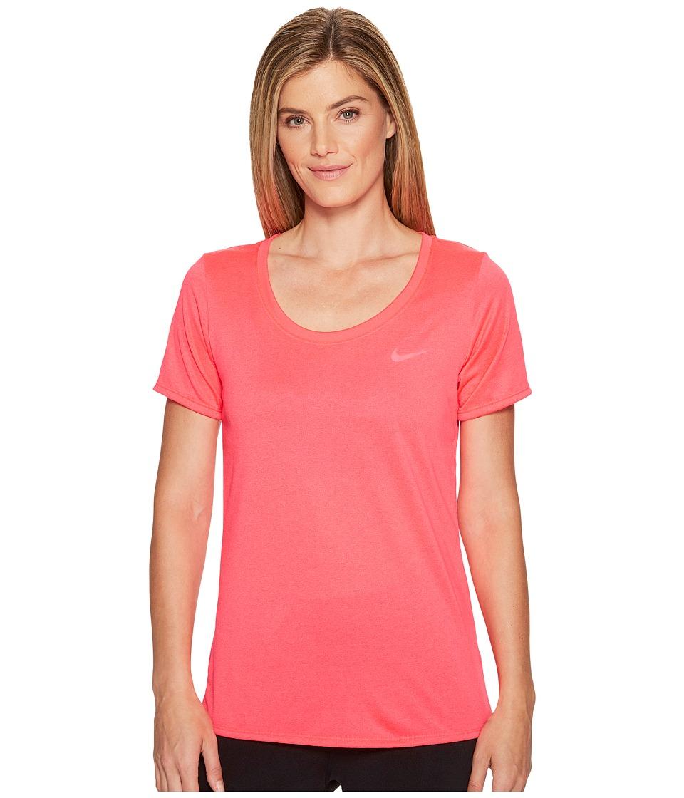 Nike - Dry Training T-Shirt (Racer Pink/Racer Pink) Women's T Shirt