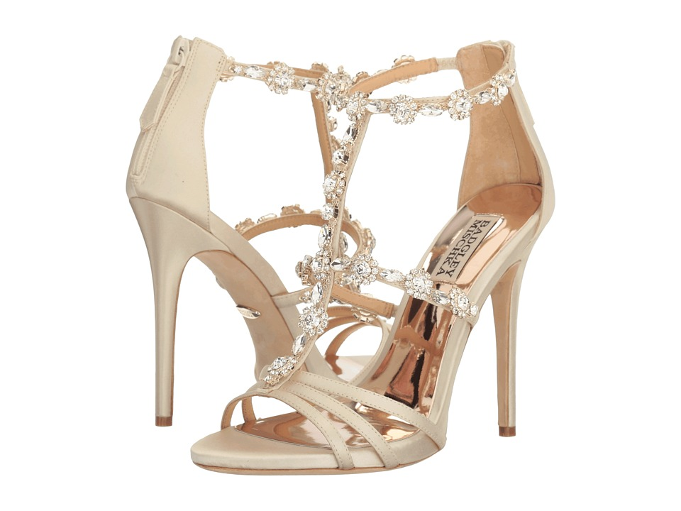 Badgley Mischka - Thelma (Ivory Satin) High Heels