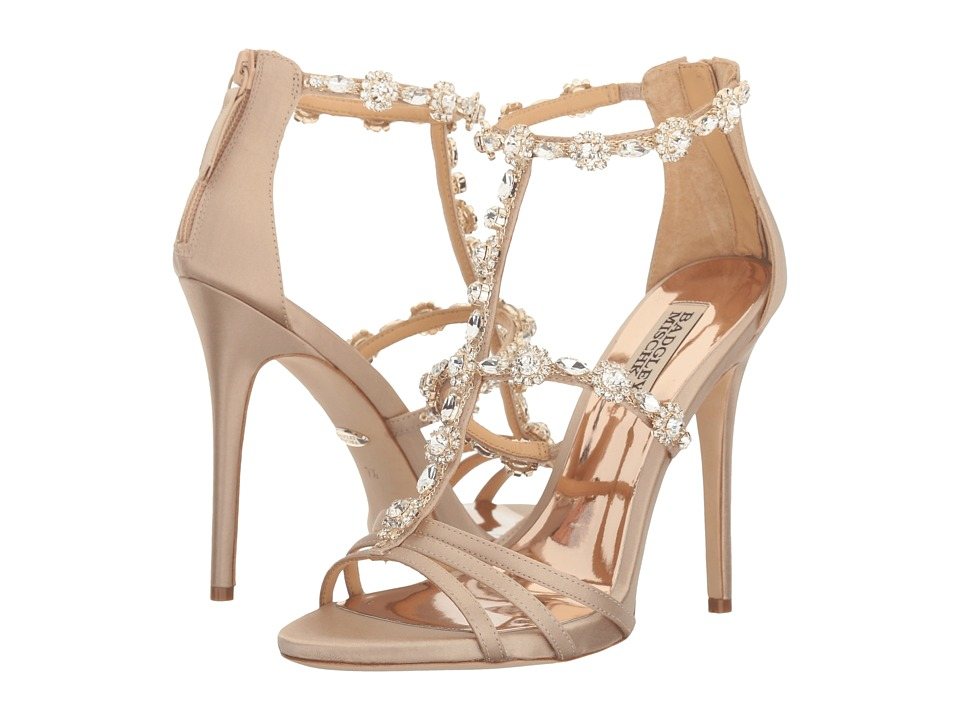 Badgley Mischka - Thelma (Nude Satin) High Heels