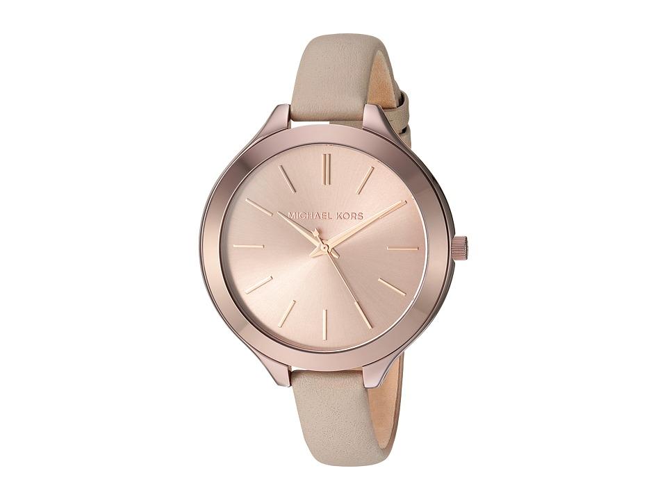 Michael Kors - MK2631 - Slim Runway (Sable) Watches