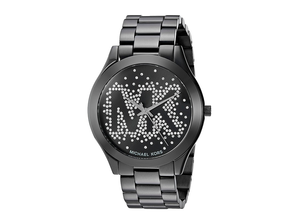 Michael Kors - MK3589 - Slim Runway (Black) Watches