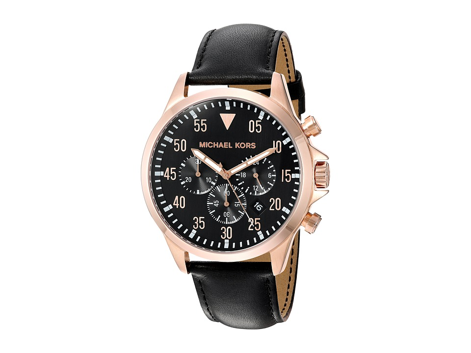 Michael Kors - MK8535 - Gage (Black) Watches
