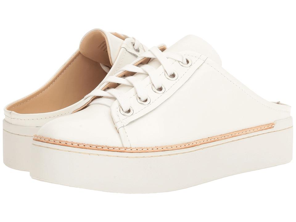 M4D3 - Slide (White Soft Calf) Women's Lace up casual Shoes