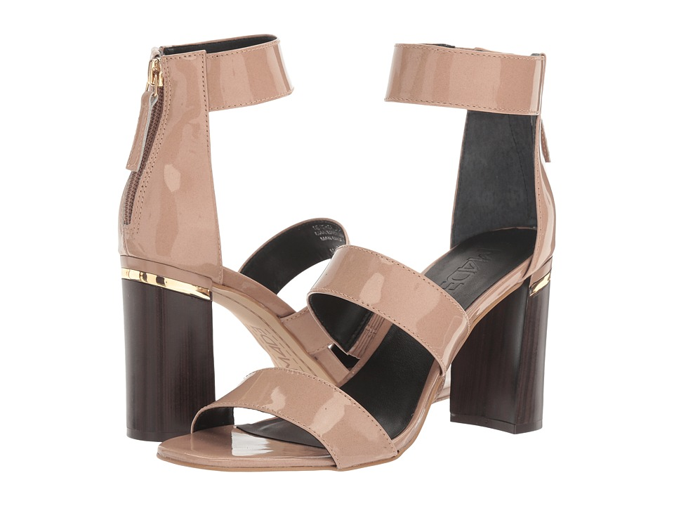 M4D3 - Belfast (Dusty Rose Patent Leather) High Heels