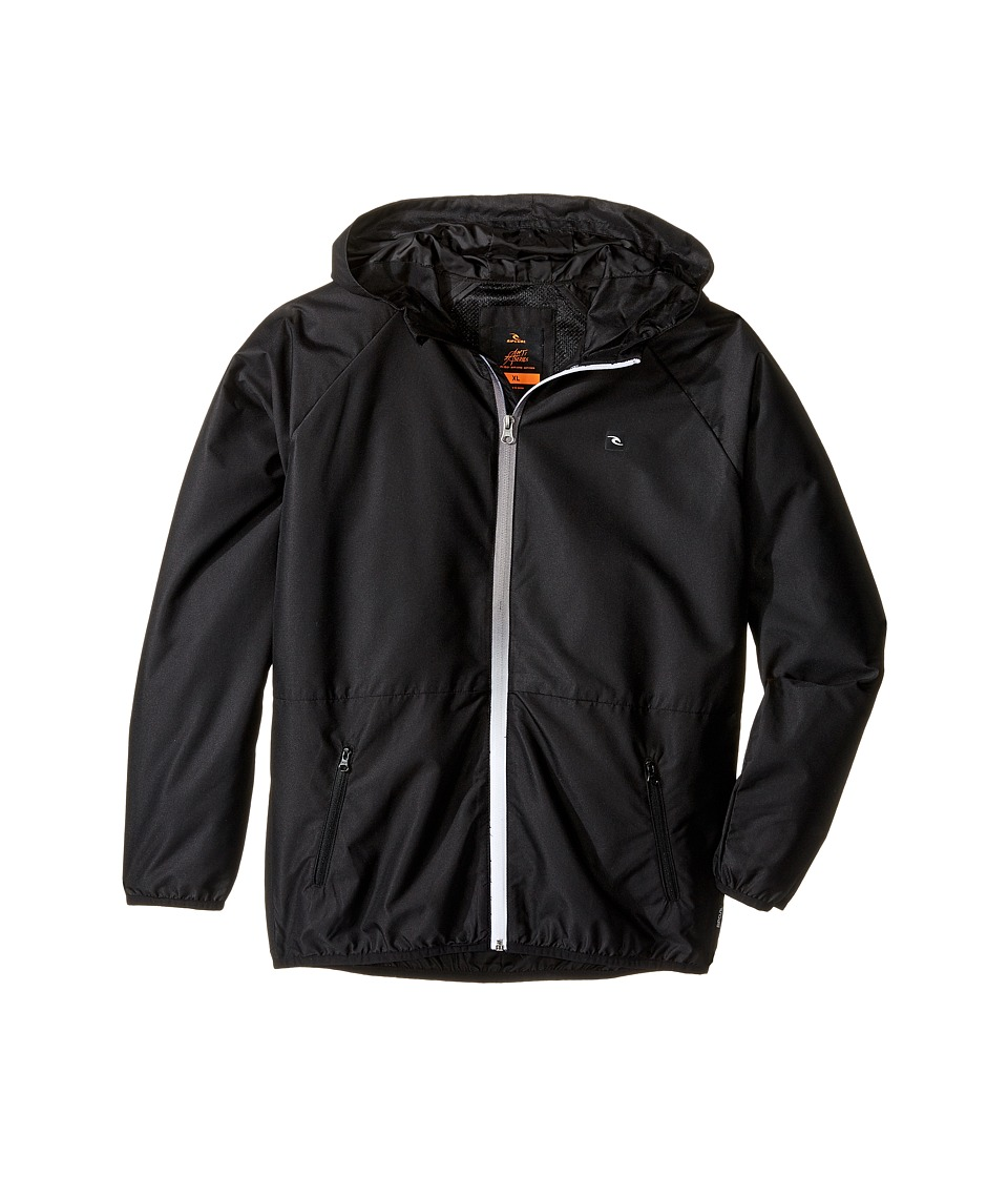 Rip Curl Kids - Talamak Jacket (Big Kids) (Black) Boy's Coat