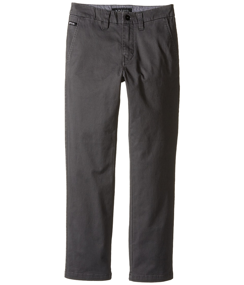 Rip Curl Kids - Epic Pants (Big Kids) (Charcoal) Boy's Clothing