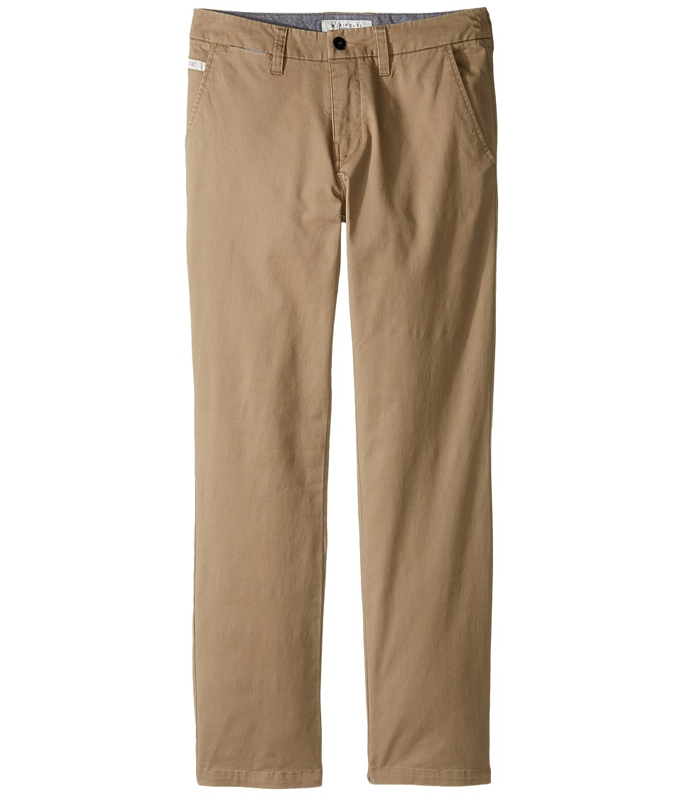 Rip Curl Kids - Epic Pants (Big Kids) (Khaki) Boy's Clothing